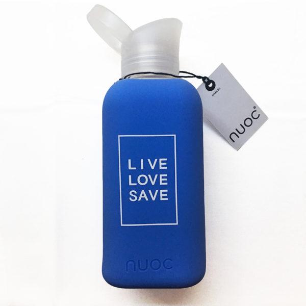 Ideas Peregrinas tienda Botella Nuoc azul