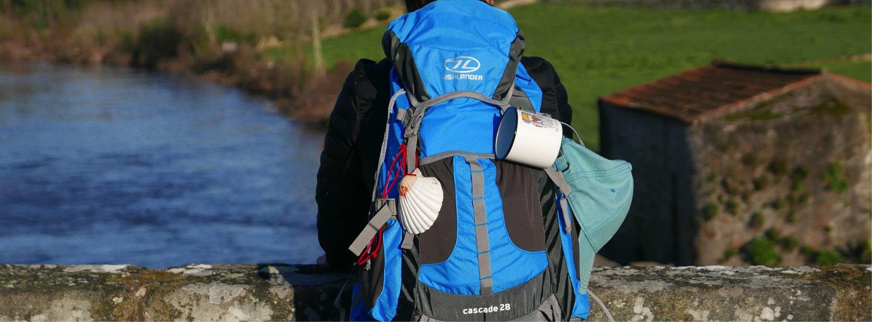 Highlander Cascade la mochila del camino!